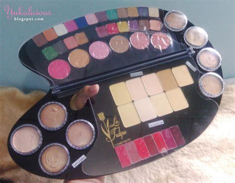 Makeup Kit La Tulipe harga makeup la tulipe palette mugeek vidalondon