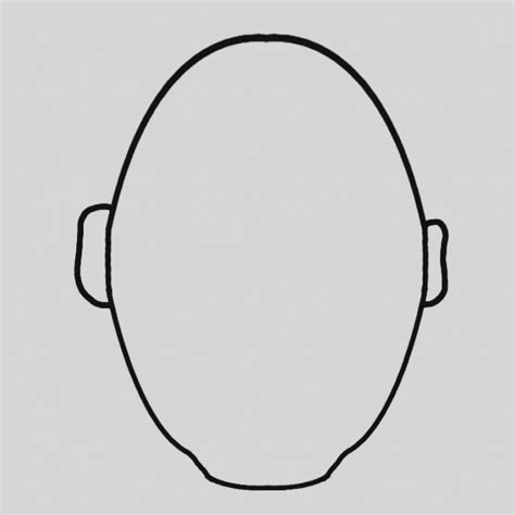 blank faces coloring page 20 dabbles babbles comfortable blank face templates photos exle resume