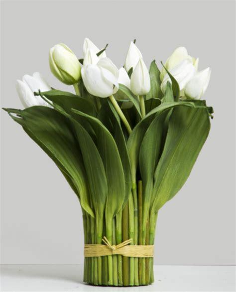 Tulip Arrangement / Bundle   White ? Allissias Attic & Vintage French Style