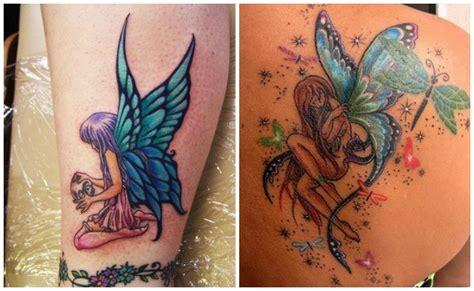 tatuajes de hadas y ninfas para que quisieron ser