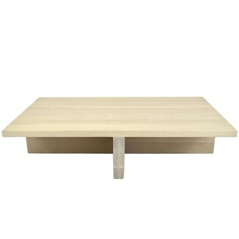 shimna white oak minimal coffee table for sale at 1stdibs