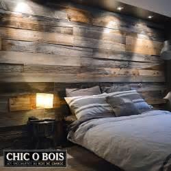 r 233 alisations de mur en bois de grange