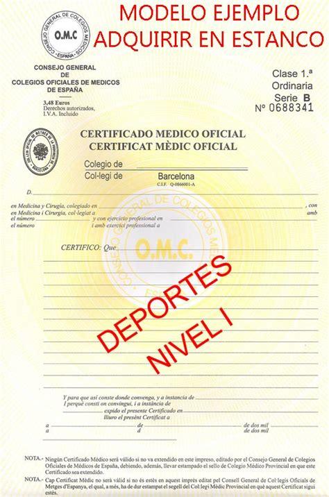 certificado m dico para conducir gratis en centros de salud vδlle de teηδ informe m 233 dico