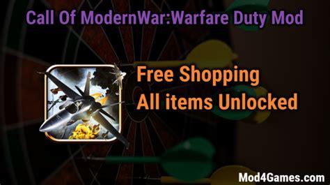 game mod free shopping call of modernwar warfare duty archives mod4games com