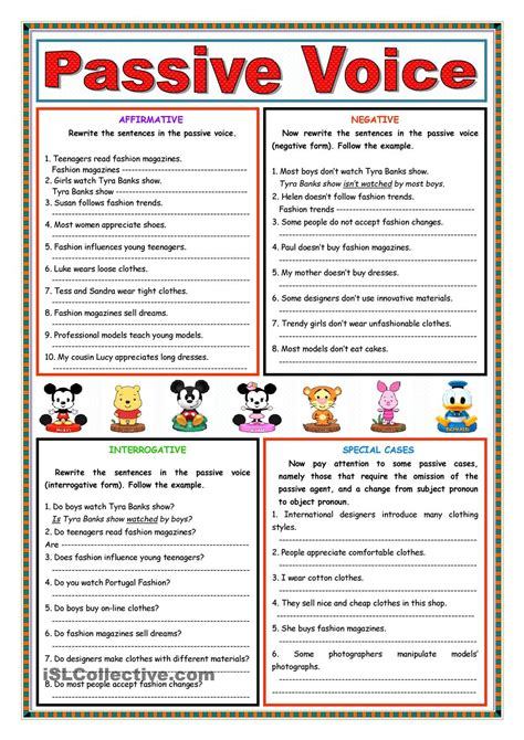 pattern of simple past active and passive passive voice present simple passive voice pinterest