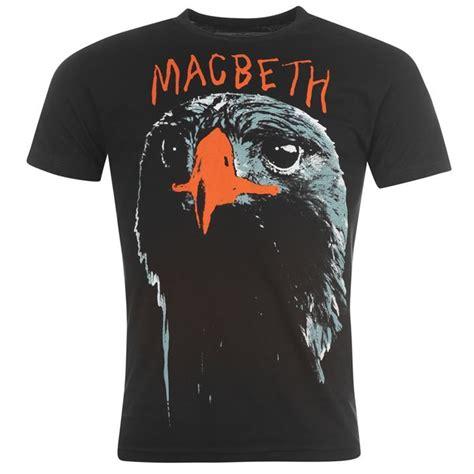 motifs in macbeth clothing pulp mens macbeth eagle t shirt motif on front short