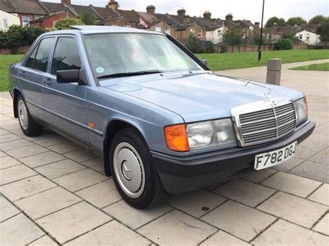 Mercedes 190e For Sale by For Sale Mercedes 190e Auto 2 0 1989 W201 Classic Cars Hq