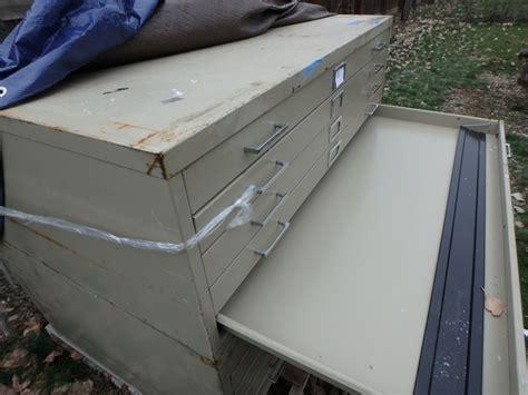 blueprint drawer lot detail 5 drawer safco map blueprint flat file cabinet w removable base