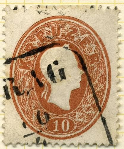 austrian stamps 1860 issues