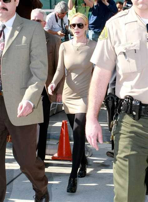 Lindsay Lohans Go Out To by Lindsay Lohan In Lindsay Lohan Going To Court Zimbio