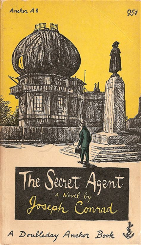 inchor books the secret by joseph conrad 1953 cover by