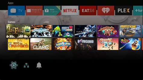 android themes video games google launches android tv and here s what it looks