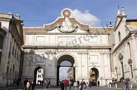 porta popolo piazza popolo romasegreta it