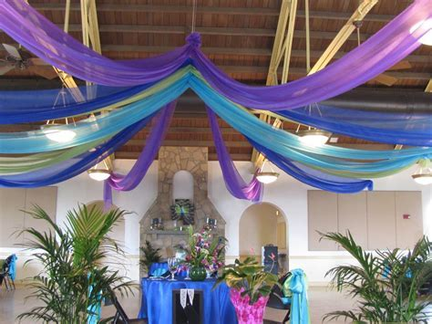 Peacock Themed Party Decor   Special Event Decor Custom