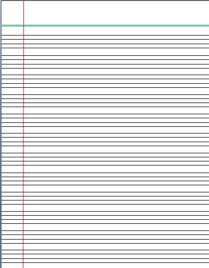 four lined paper for writing writing paper template word documents