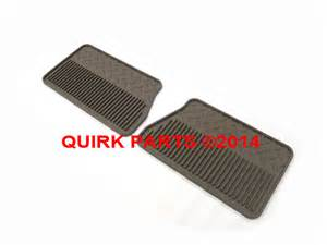 Chevrolet Floor Mats Australia 2007 2013 Chevy Gmc Cadillac 2nd Row All Weather