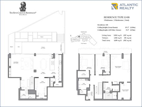 residences at the ritz carlton tucson floor plan ranch house model ritz carlton residences floor plans meze blog