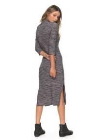 Turtleneck Sleeve Dress hello fall 3 4 sleeve dress turtleneck dress erjkd03155