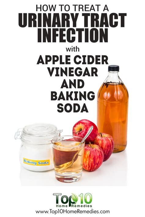urinary tract infection apple cider vinegar and cider