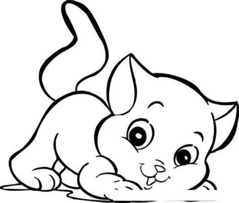 dibujos para colorear de gatitos bebes az dibujos para colorear gatos bebes para colorear