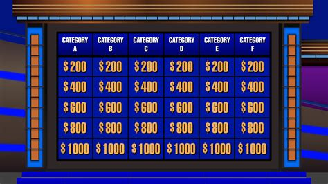 jeopardy template powerpoint 2010 with sound futuregshost s creations millionaire fans