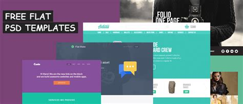 free flat design templates 10 free flat design websites templates