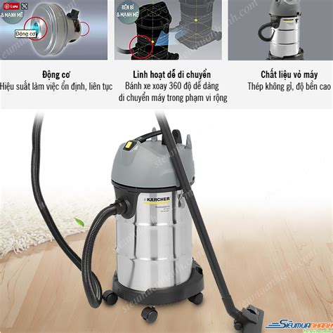Karcher Nt 38 1 Me Classic Me Profesional And Vacuum Cleaner m 225 y h 250 t bụi kh 244 v 224 ướt karcher nt 38 1 me classic