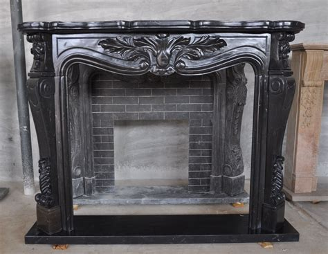 Black Marble Fireplace Surround Black Marble Fireplace Surround And Mantle Italian