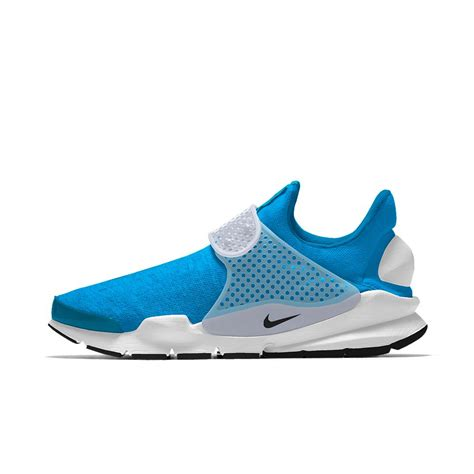 sock shoes for nike sock dart id s shoe in blue for lyst