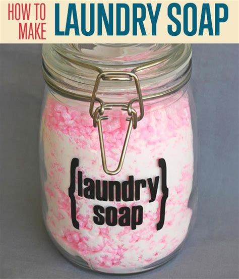 How To Make Laundry Detergent Diy Projects Craft Ideas How To Make A Laundry