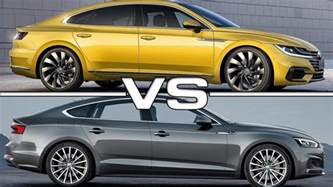 Vw Cc Vs Audi A7 2018 Volkswagen Arteon Vs 2017 Audi A5 Sportback
