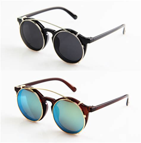 New Kacamata Lookalike Fashion Sunglasses 5 colors steunk outer hanging glasses 2014 new vintage fashion summer cool