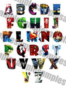 superman alphabet template 9 best images about for the ones on