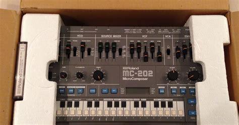 Antena Mc 202 Original matrixsynth roland mc 202 w original box casette manuals