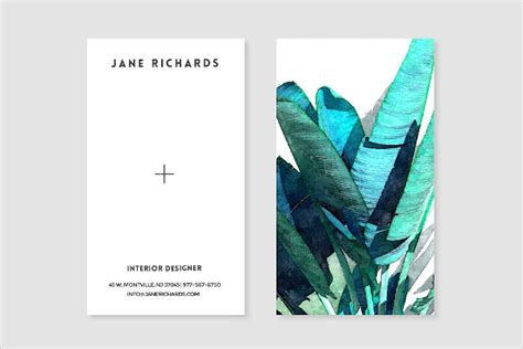 leaf business card template 25 fancy business card templates free premium