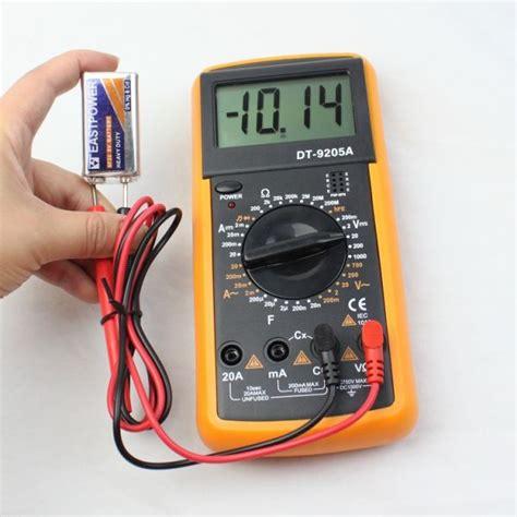 fuson digital avometer avo multimeter dt9205a