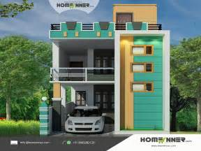 tamil nadu style 3d house elevation design home design architectural house building plans stock