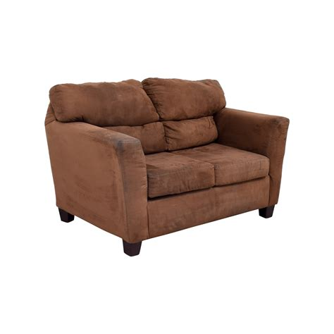 bobs recliners 57 off bob s furniture bob s furniture brown love seat