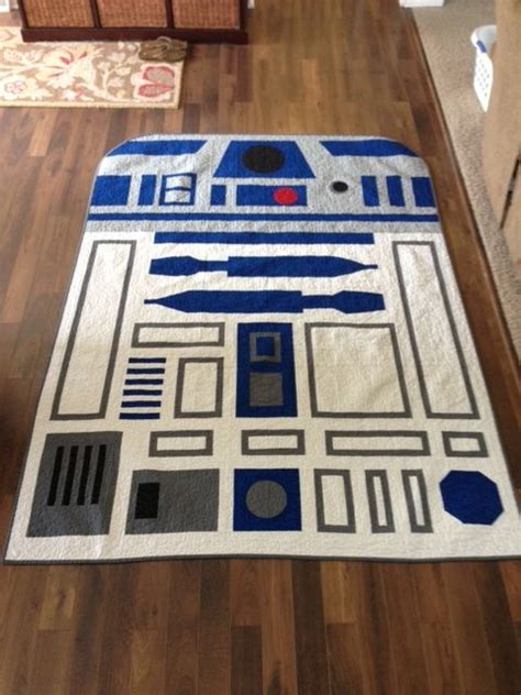 R2d2 Quilt r2d2 quilt i made for max sewing