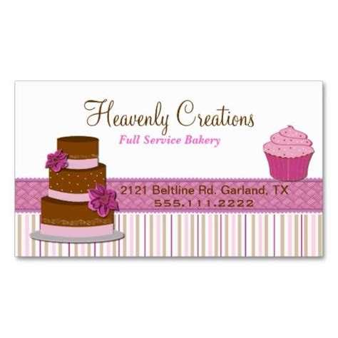 cake business card template 17 best images about bakery business card templates on