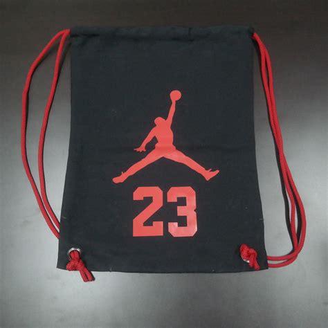Jual Tas Obrok Tahan Air jual tas serut tahan air untuk sepatu olahraga logo jumpman 23 bjs bandung jersey
