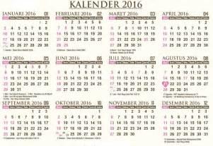 Kalender Tahun 2018 Beserta Tanggal Merah Kalender 2016 Lengkap Beserta Liburnya Ketemulagi
