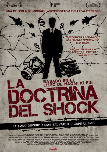 libro the shock doctrine the la doctrina del shock la herramienta del capitalismo ingles sub espa 241 ol documental social