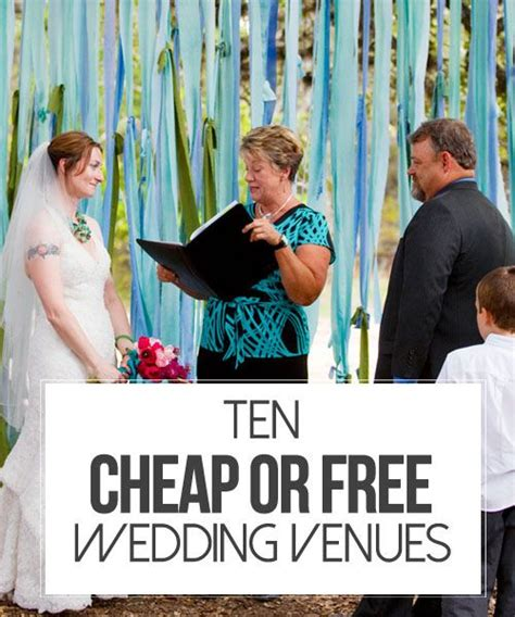 17 best ideas about cheap wedding venues on pinterest
