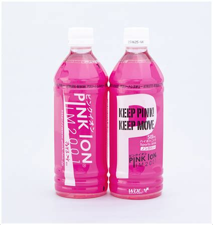 Sho Anjing Bolivia 500 Ml pro sports pinkion pink ionic rakuten global market