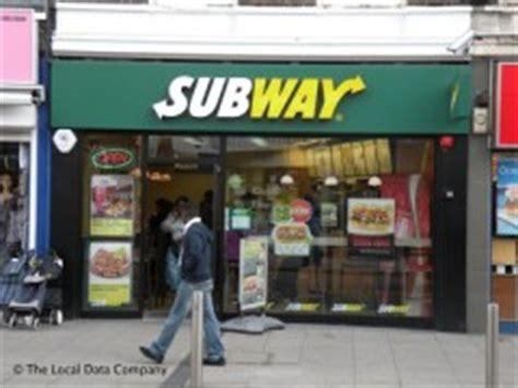 subway  high road wembley   food shops