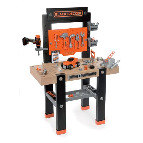 black and decker toy work bench alami toys smoby black decker the star workbench
