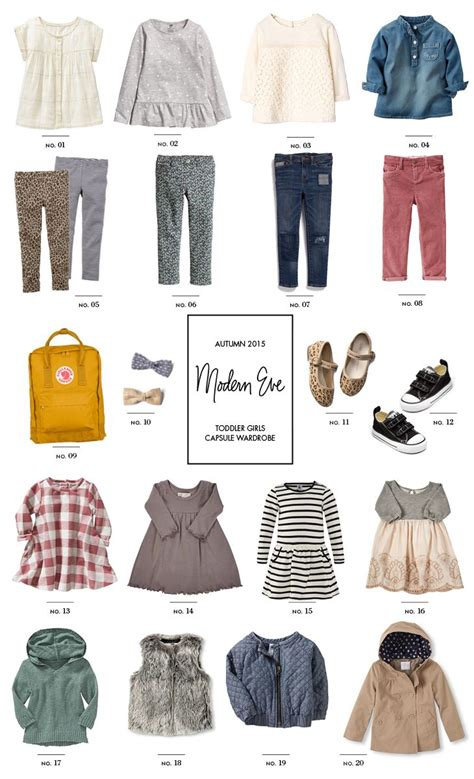 Clothes Capsule Wardrobe by Toddler Capsule Wardrobe Back To School For Fall Modern