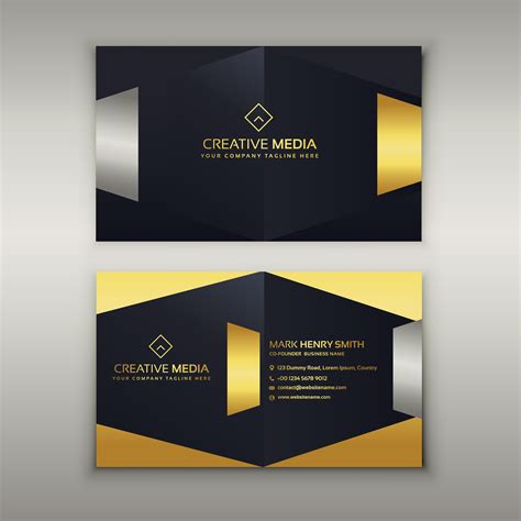 Luxury Business Card Design Template by Premium Luxury Business Card Design Template