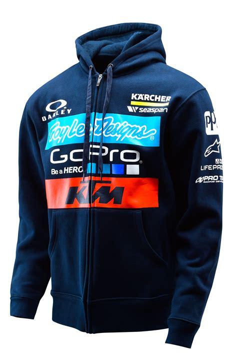 Jaket Sweater Hoodie Ktm Racing Keren Alfamerch aomc mx 2016 ktm tld factory team zipup